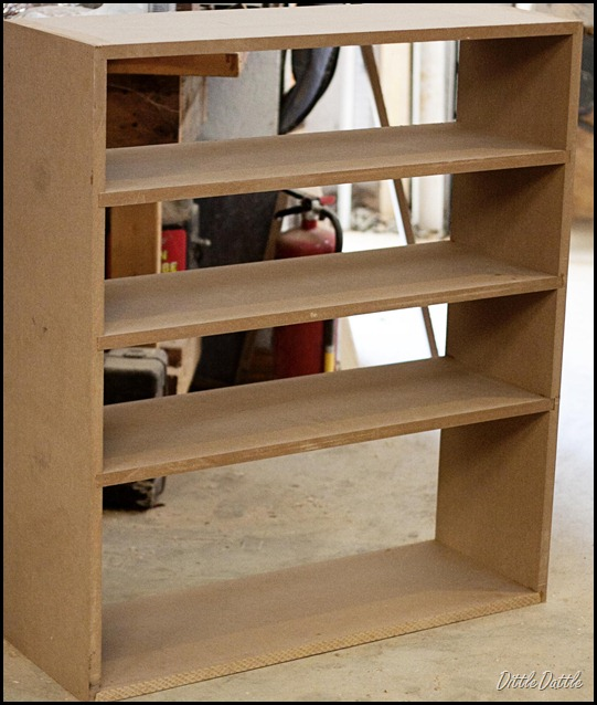 MDF Closet shelves