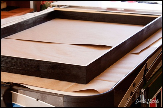 Assembling-Shadow-Box-Frame