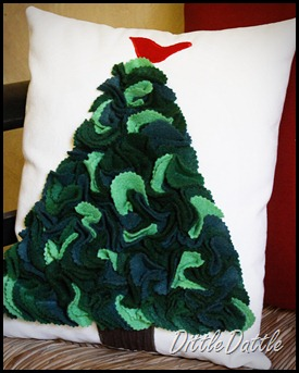 Felt Christmas Pillow