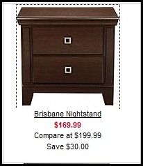 Value City Nightstand