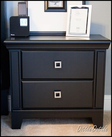 black-modern-nightstand