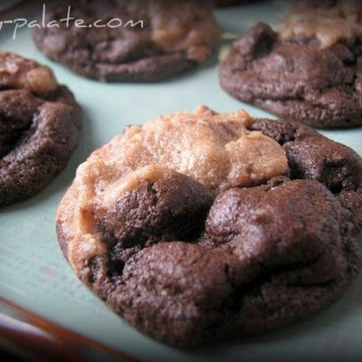 Chocolate Peanut Butter Cookie Duo