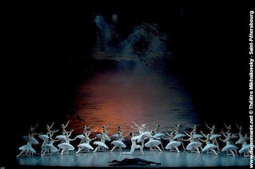 le lac des cygnes messerer  gorsky