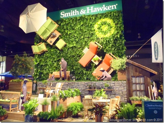 Smith & Hawken Display Philly Flower Show