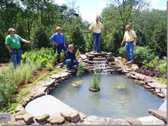 Who knew building a pondless water feature is easy for Building a water pond