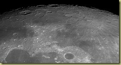 Moon North Pole 16 4 2011