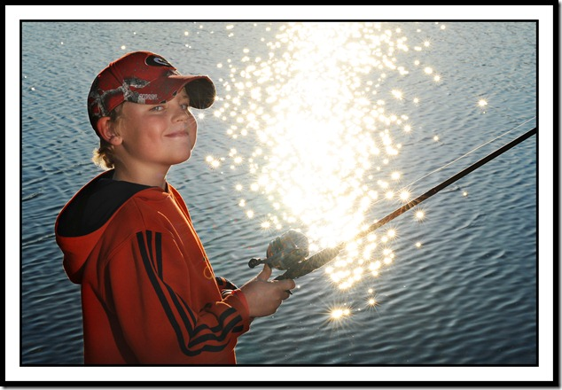 Bridger fishing 2