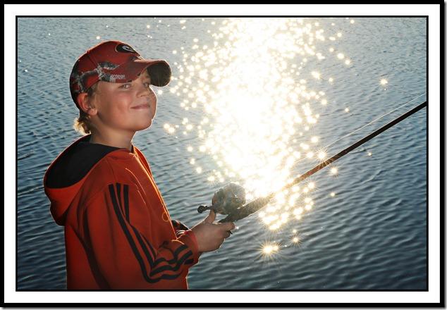 Bridger fishing 2