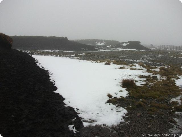 peat hags dead stones
