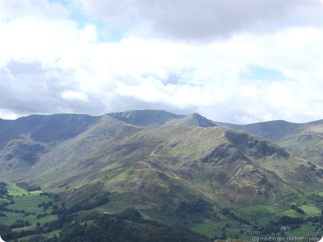 helvellyn range from birk fell