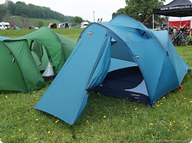 tents...