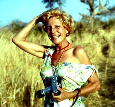 Leni Riefenstahl in Africa.