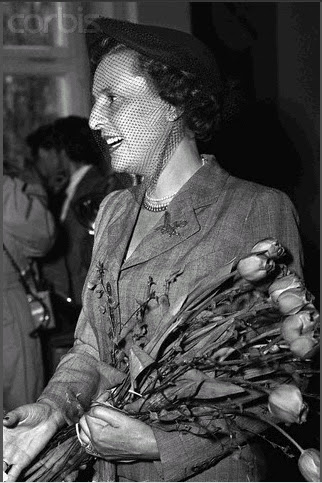 Leni Riefenstal after she was cleared by a West Berlin denazification court. April 22, 1952