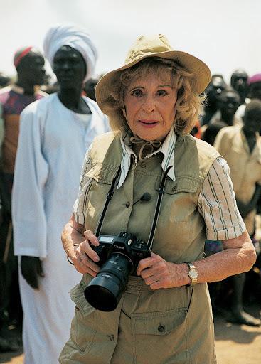 Leni Riefenstahl, 1990.