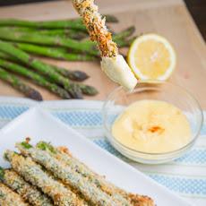 Crispy Baked Asparagus Fries
