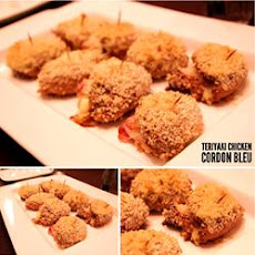 Teriyaki Chicken Cordon Bleu