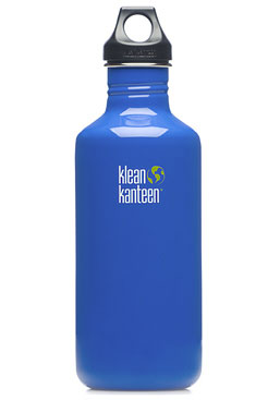 Klean Kanteen Stainless Steel Bottle 40oz Ocean Blue
