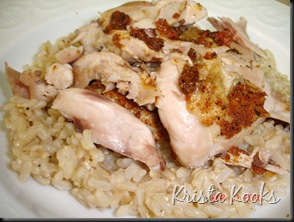 Krista Kooks Spice Rubbed Chicken in Crockpot 4
