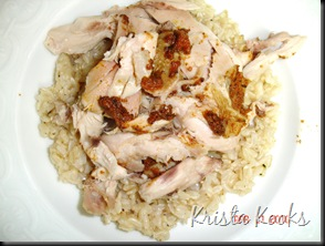 Krista Kooks Spice Rubbed Chicken in Crockpot 3