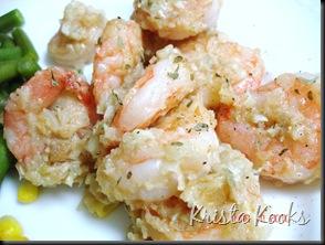 Krista Kooks Tyler Florence Sauteed Shrimp