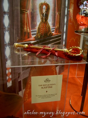 red queen's sceptre