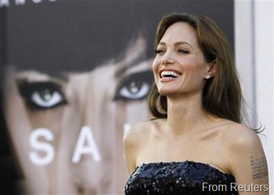 Jolie from reuters