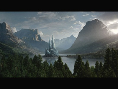 Narnia-ice castle