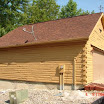 Log Cabin Ohio 2 After - Garage