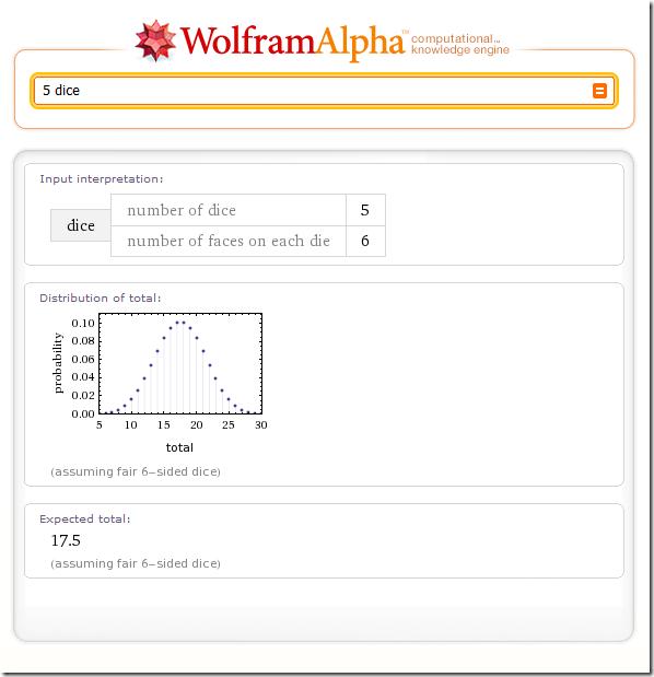 wolfram alpha screenshot tour derivatives investing blog