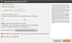 Ajustes de importación de PDF_004