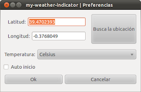 Liberada la versión 0.3.1 de My-Weather-Indicator