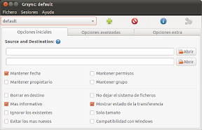 Grsync: default _001