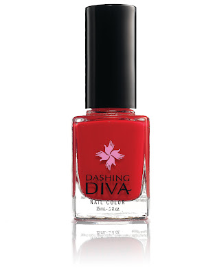 Pauley Perrette from NCIS wears Dashing Diva nail polish in The Big Apple
