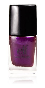 elf cosmetics spring nail polish in royal purple