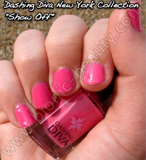 Dashing Diva Manhattan collection nail polish in Show Off