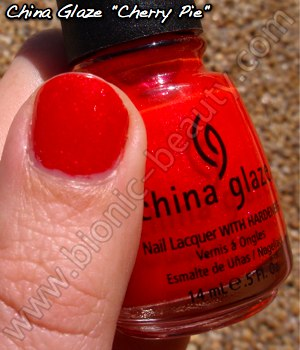 China Glaze Summer Days 2009 nail polish in Cherry Pie