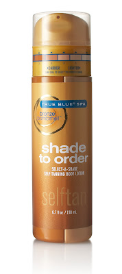 Bionic Beauty review True Blue Spa Shade to Order sunless tanner