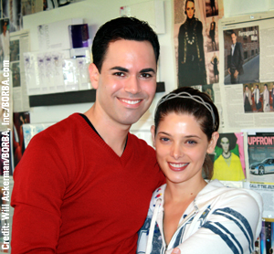 Ashley Greene, Alice Cullen in Twilight, talks skin care with Scott-Vincent Borba