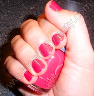 Orly's Prepster Collection nail polish swatch in OMG