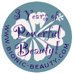 Bionic Beauty's 3 year blog anniversary celebration