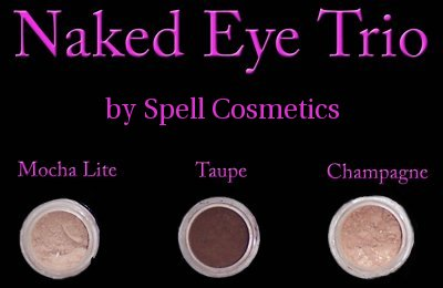 Highly pigmented and neutral shadows for all eye and skin colors by Spell Cosmetics