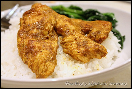 curry chicken tenders