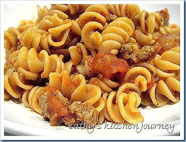 ground turkey pasta