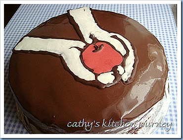 red velvet twilight cake