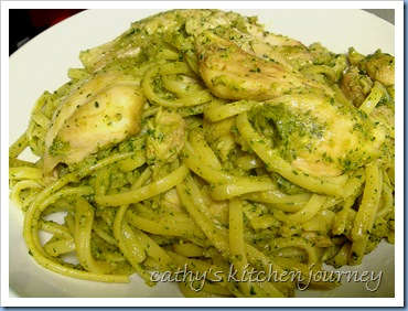 cathy's kitchen journey: Chicken Pesto Pasta