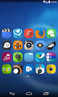 Screenshot of Flat UI Icon Pack FREE
