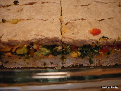 Baked Vegetable Sandwiches