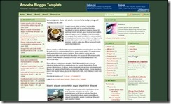 amoeba-blogger-template