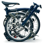 Brompton Folding Bikes - Order Now for January Delivery - The best combination of ride quality and folded size of any folding bike - Starting from $1650