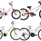 BYK Kid's Bikes - Light, ergonomic, well designed kids bikes - from $250